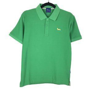 Harmont & Blaine Green Cotton Short Sleeve Polo S